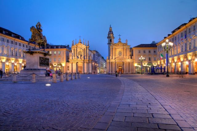 Piazza San Carlo Torino - Movingitalia.it