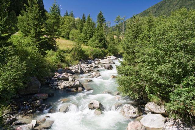 vista del flusso Vermigliana nelle Alpi italiane - Movingitalia.it