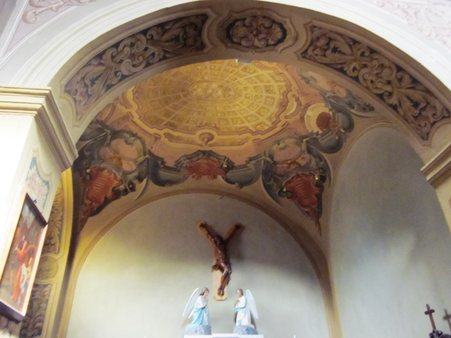 Dipinti nella chiesa di Pogliana Bisuschio