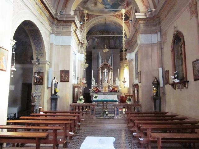 Interno Chiesa Pogliana Bisuschio