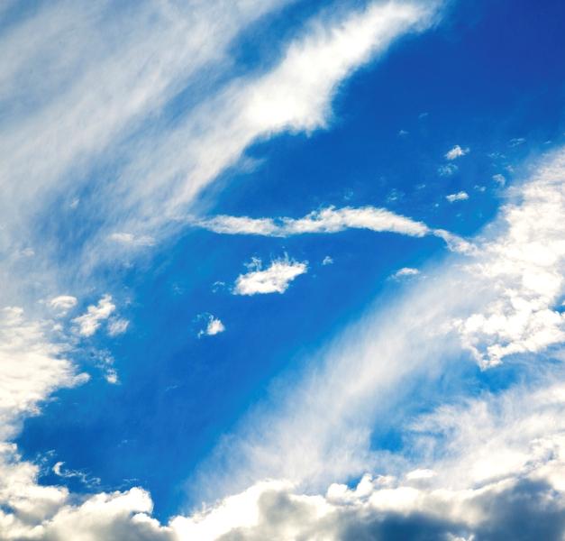 Cielo e nuvole a Busto Arsizio