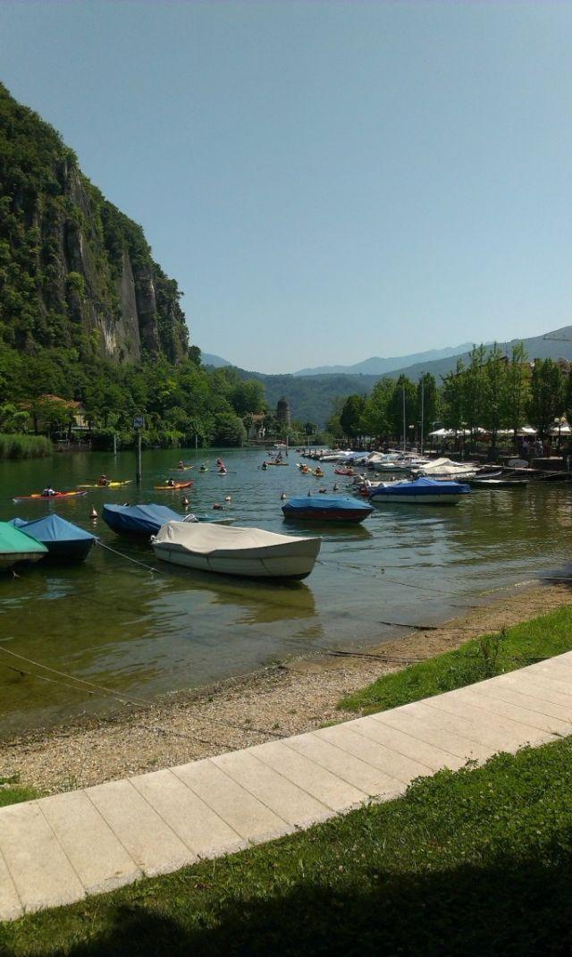 Imbarcazioni stretto di Lavena Ponte Tresa