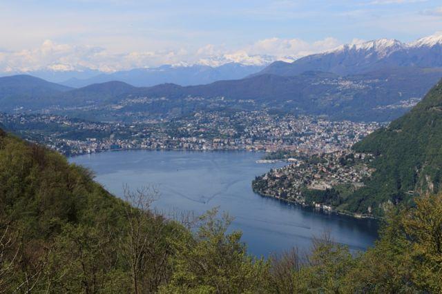 Lago di Lugano e Monte Rosa