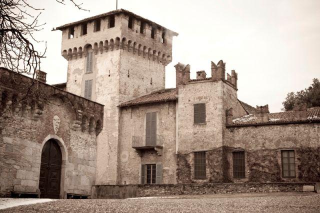 Primo piano del Castello Visconti, Somma Lombardo