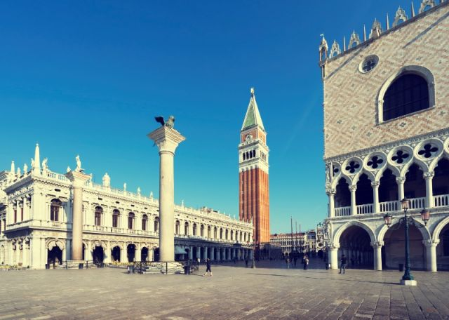Palazzi a Piazza San Marco a Venezia - Movingitalia.it