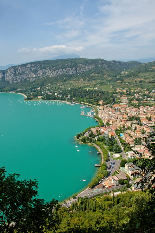 Vista dall'alto e Lago di Garda - Movingitalia.it