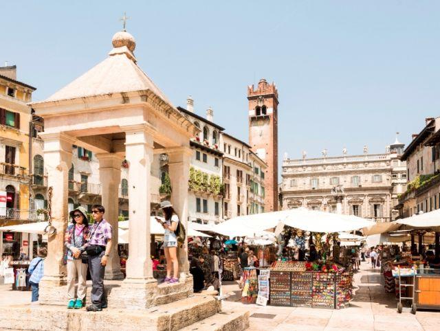 Mercatino a Verona