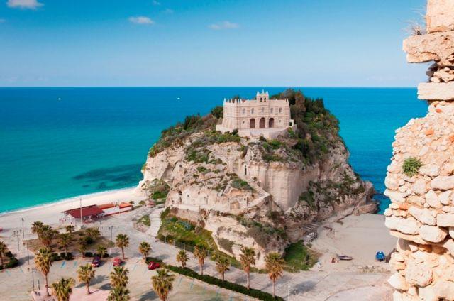 Castello sull'Isola di Tropea