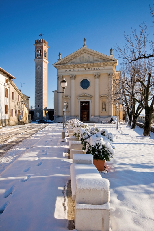 Chiesa e torre di Arzignano - Movingitalia.it