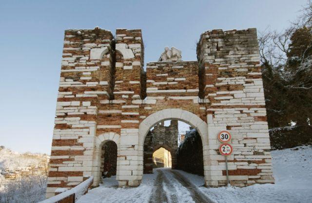 Entrata castello Arzignano - Movingitalia.it