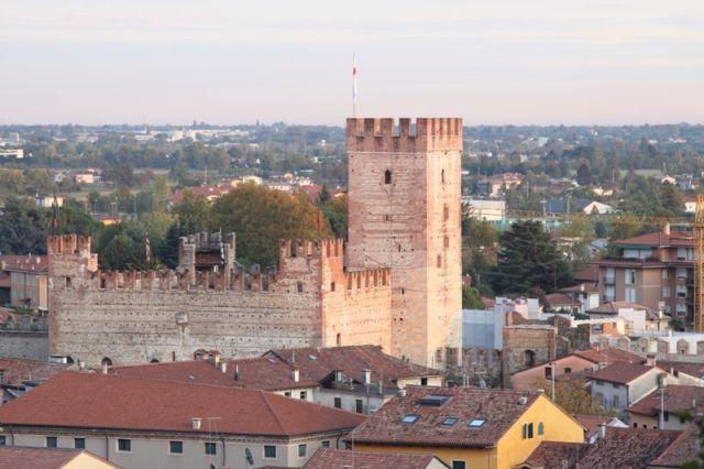 Castello di Marostica primo piano - Movingitalia.it