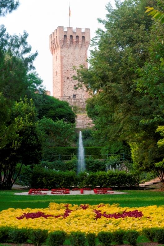 Castello e parco in Veneto