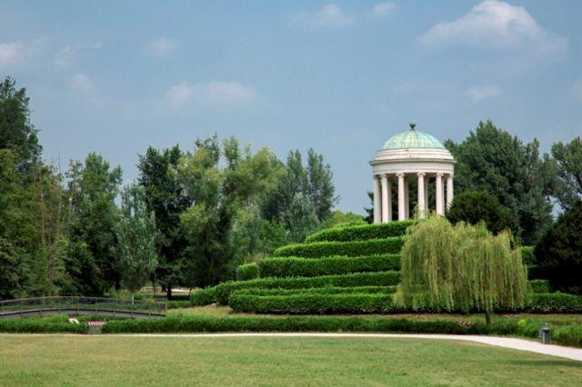 Parco Querini a Vicenza nel Veneto