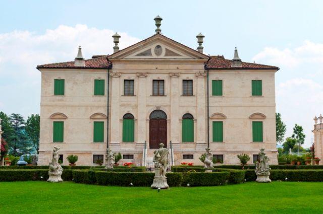 Villa Cordellina e giardino a Vicenza