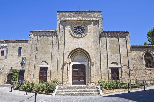 Chiesa di San Francesco a Tarquinia nel Lazio