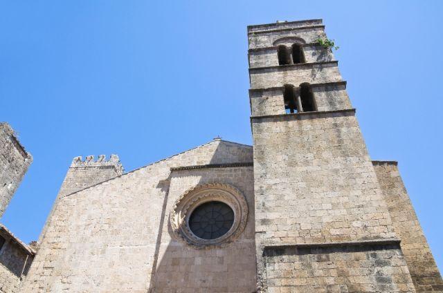 Chiesa di San Pancrazio a Tarquinia nel Lazio
