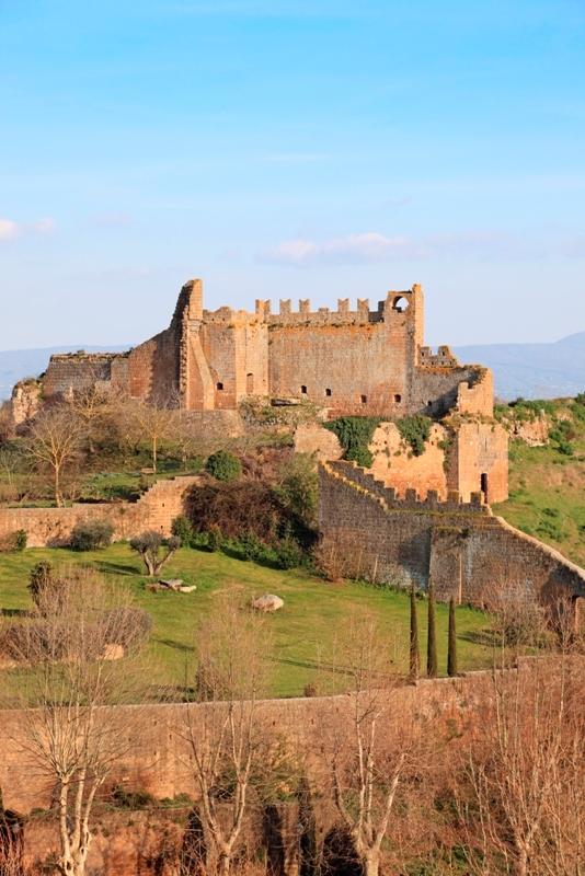 Rovine di Castello del Rivellino, Lazio