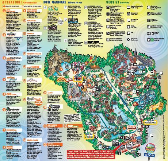 Cartina Dell Italia In Miniatura.Italia In Miniatura Moving Italia
