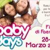 Wellness Baby Days festival dedicato ai bambini da zero a dieci anni