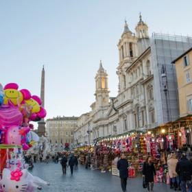 Mercatino natale di roma piazza caprera roma mercatini - Mercatino di natale piazza mazzini roma ...